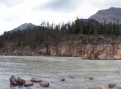 panorama athabasca river