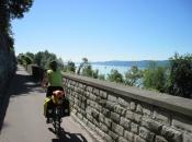 Fietspad langs de Bodensee