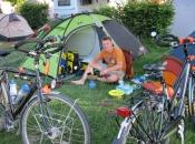 Op de camping in Friedrichshafen