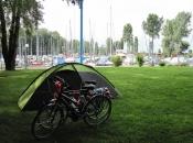 Op de camping in Altenrhein