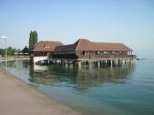 Oud badhuis langs de Bodensee