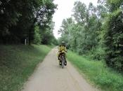 Rolph op de fiets