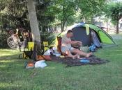 Koken op de camping in Hochstetten