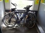 Fietsen in de trein vanuit Parijs