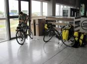 Fietsen klaarmaken op Biarritz Airport