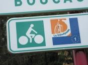 Ons eerste bordje van de Vélodyssée.