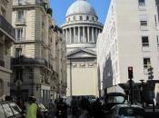 Aankomst in Parijs bij Pantheon