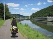 Ravel2 fietsroute langs de maas