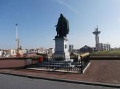 Standbeeld Michiel de Ruiter in Vlissingen