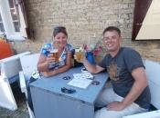 Gezellig wat drinken in Harlingen