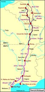 Kaart groene route