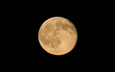 Fotograferen volle maan