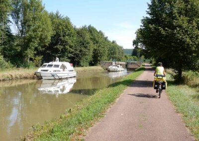Langs het Canal de Nivernais
